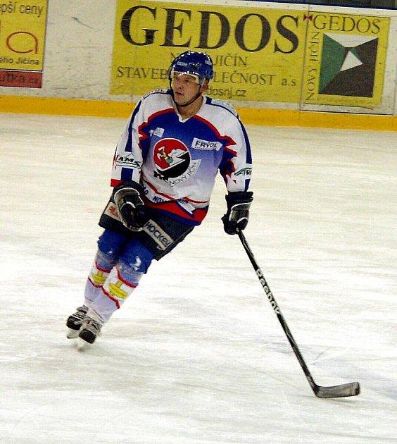 Kamil Glabazňa coby hrající trenér B týmu.