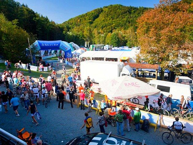 Oderská mlýnice přiláká každoročně mnoho cyklistů a fanoušků.