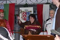 Oslavy 650. výročí od povýšení osady na město slavili o víkendu ve Štramberku.