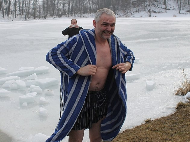 Velitel Městské policie Nový Jičín Jiří Klein splnil svůj slib. ,