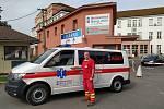 Nová sanitka novojičínské nemocnice.