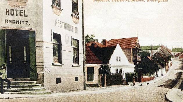 Hotel Radnitz v roce 1917