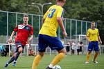 Fotbal, TJ UNIE Hlubina - ŠSK Bílovec, 22. srpna 2020 v Ostravě.