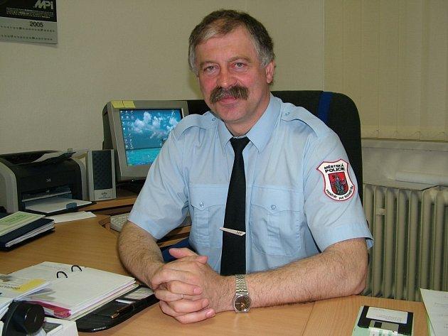 Odvolaný ředitel Městské policie ve Frenštátě pod Radhoštěm Ladislav Poruba.