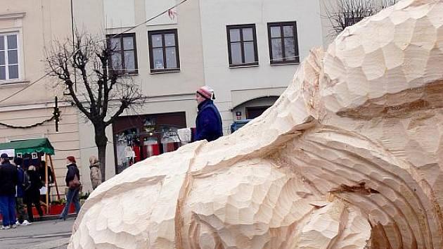 Ondra z Oder bude i v letošním roce strážit vánoční trhy.