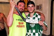 Nejlepší střelec turnaje Radim Baroš.