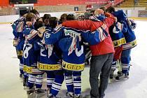 Na zimním stadionu v Prostějově proběhl mezinárodní turnaj hokejistů narozených v roce 1996 a dříve. Z celkového prvenství se radoval Nový Jičín, který porazil ve finále Žilinu.