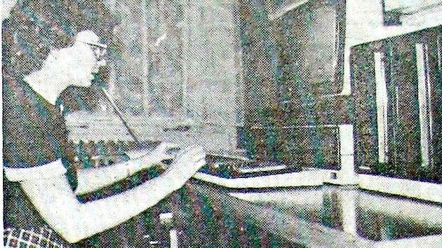 Snímek pořízený v JZD Mír Fulnek.