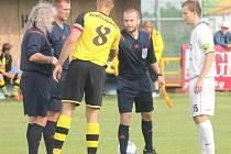 Dušan Ondruš (vpravo) se vrátil do Bílovce po ročním angažmá v nižší rakouské soutěži