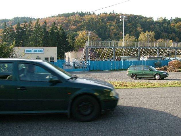 Zimní stadion ve Frenštátě pod Radhoštěm. Ilustrační foto.