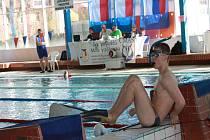 Novojičínský ploutvař Jakub Klimpar předvedl na startu sezony výtečnou formu, když na úvod Středoevropského poháru mládeže ovládl kategorii dorostenců.