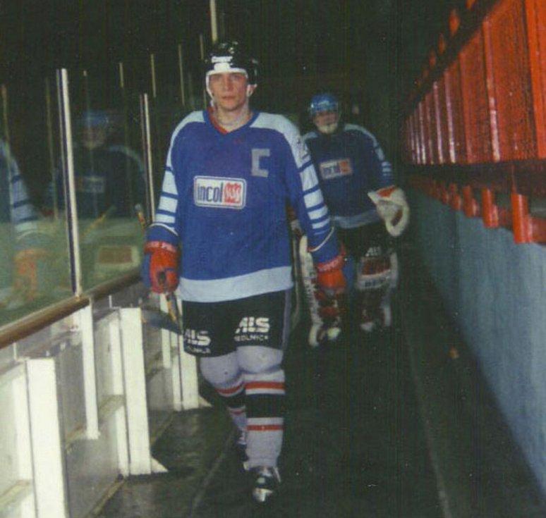 Hokejový manažer Nového Jičína MIlan Urban. Foto: www.hknj.cz