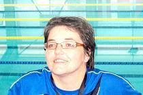 Trenérka úspěšných ploutvařů a ploutvařek z novojičínské Laguny Simona Klapcová.