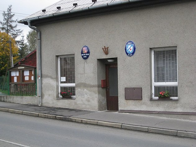 Obecní úřad v Rybí.