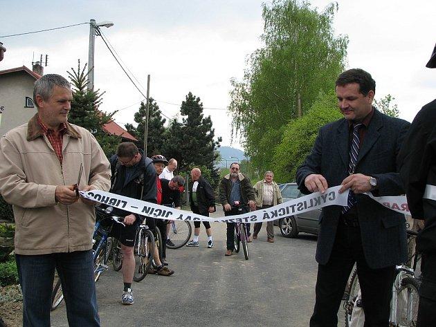 Otevření cyklostezky Nový Jičín - Libhošť.