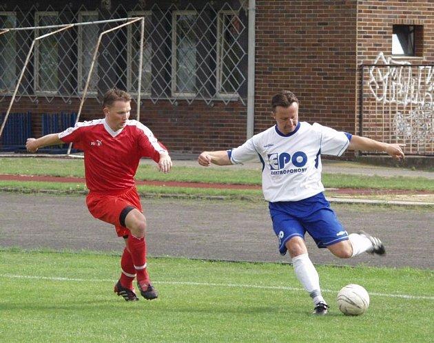 Tomáš Chromečka (vlevo) a jeho tým Nový Jičín v poháru pokračují.