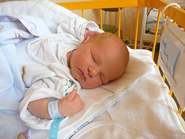 DAVID VINŠ, Nový Jičín, nar. 26. 8. 2012, 50 cm, 4,30 kg. Nemocnice Nový Jičín.