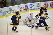 Hokejisté Kopřivnice na ledě Hodonína těsně prohráli.