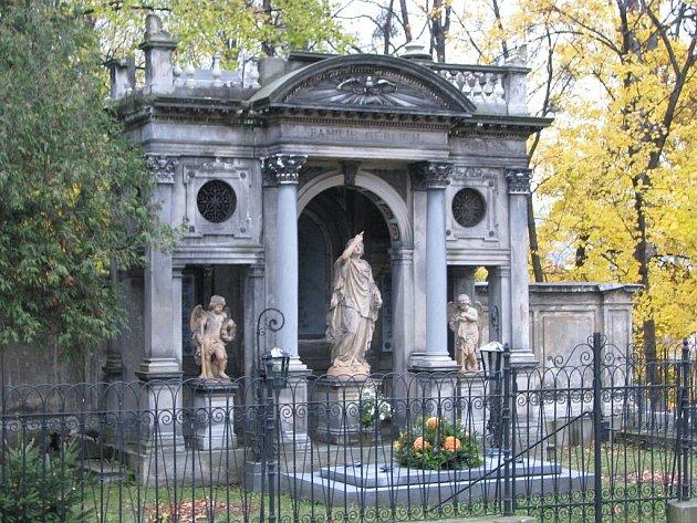 Gerlichova hrobka. Ilustrační foto.