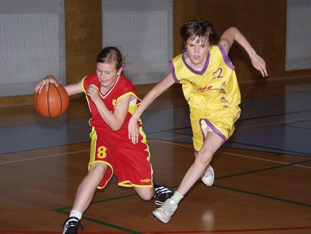 Minibasketbalistky BK Příbor se umístily na Mistrovství ČR v minibasketbalu na 5. příčce.