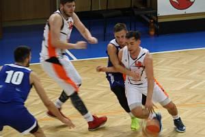 Basketbalisté Nového Jičína nestačili na Zlín.