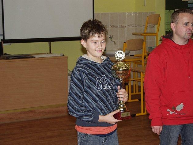 Petr Bednařík z JUDO Frenštát pod Radhoštěm se díky své poctivé práci vypracoval až na olomoucký šampionát.