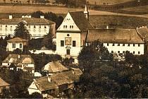 Kapucínský klášter s kostelem svatého Josefa býval jednou z dominant Fulneku.