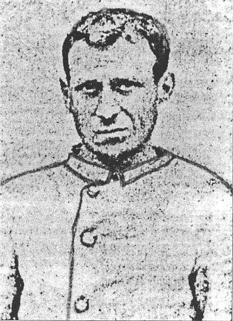 Policejní snímek šestinásobného vraha Antonína Schimka zOder