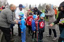 Příznivci běhání z řad dětí se sjeli v sobotu 12. března do Mořkova, kde se konal oblíbený běžecký závod.