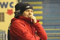 Trenér Studénky Miroslav Pokorný.
