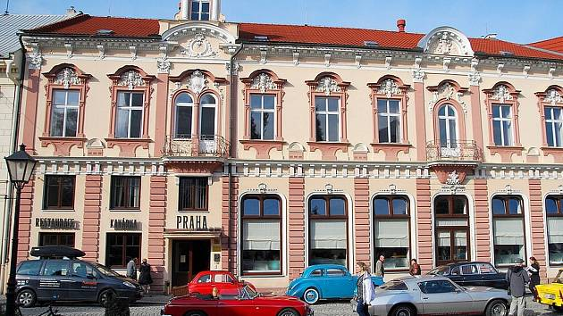 Hotel Praha v Novém Jičíně.