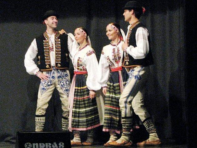 Vojenský umělecký soubor Ondráš z Brna.