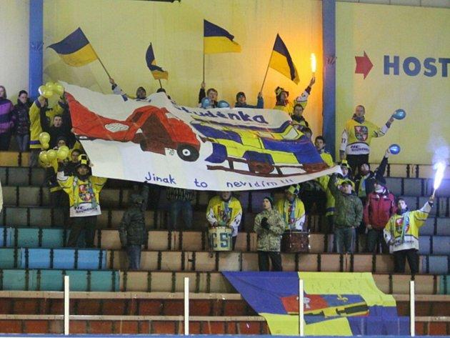 Foto fanoušků Studénky. Ilustrační foto.