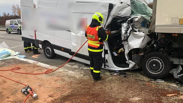 Zásah u tragické nehody u Bravantic.
