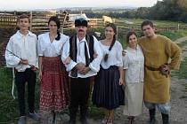Pohádka Zlatá kuželna se natáčela v obci Kamenka a v jejím okolí.
