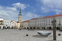 Studie opravy Masarykova náměstí v Novém Jičíně.