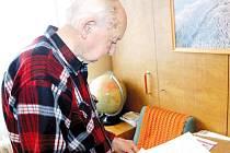 Jednadevadesátiletý Miroslav Merenda si dobře vzpomíná na dobu, která přinesla mnoho utrpení.