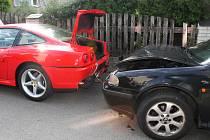 V Šenově u Nového Jičína bourala řidička.