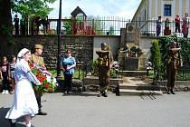 Oslavy 70. výročí konce 2. světové války v Libhošti.