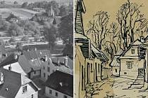 Starý Frenštát a okolí ve fotografiích a obrazech.