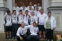 Úspěšné mladé házenkáře Moravskoslezského kraje trénoval kopřivnický trenér Jan Martínek.