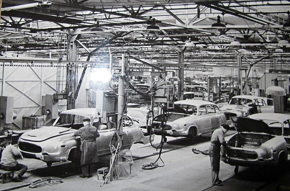 Z Příbora vyjížděly Tatry 603 v letech 1974 a 1975, pak je vystřídal model 613.