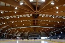 Zimní stadion v Novém Jičíně.