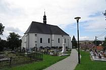 Kostel sv. Jana Křtitele je chloubou Velkých Albrechtic.