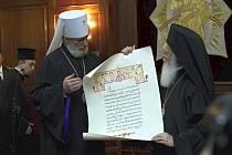 Předání poselství Sv. Rostislava po 1150 letech.