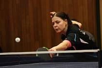 Stolní tenistky Hodonína prohrály úvodní utkání finále play-off české extraligy žen s Břeclaví 4:5. O výhře obhájce mistrovského titulu rozhodla v závěrečné dvouhře Aneta Kučerová, která porazila Kristýnu Mikulcovou 3:2 na sety.