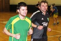 Fotbalisté divizních Mutěnic v úterý zahájili zimní přípravu. Svěřenci trenéra Petra Zemánka se poprvé sešli v tělocvičně základní školy.