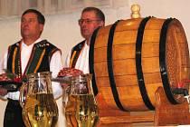 Žehnání vína v Čejkovicích.