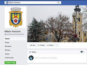 Oficiální facebookový profil města Hodonín. Ilustrační foto.