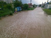 Bouře napáchala škody ve Strážnici na Hodonínsku.